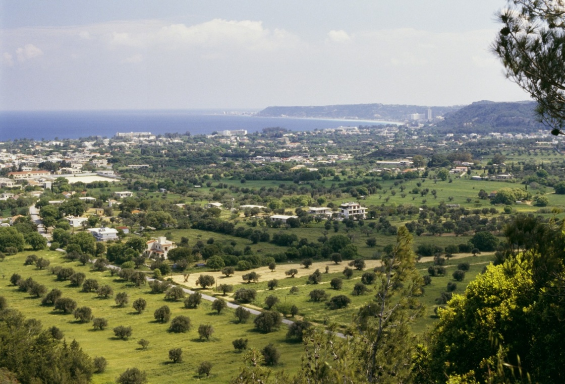 'View of Trianta, Filerimos, Rhodes, Greece' - Rhodos