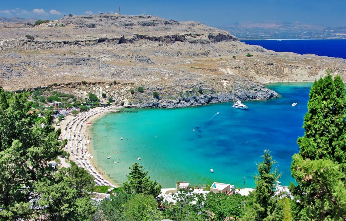 Strand Karte Rhodos.Strände Auf Rhodos Genießen Sie Das Meer Und Die Sonne
